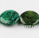 Chrysocolla beads, Green, 7*23mm round, Sold per 15.7-inch strand