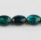 Chrysocolla beads, Green, 7*13*18mm egg shape, Sold per 15.7-inch strand