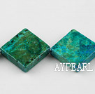 Chrysocolla beads, Green, 5*30mm opposite angles, Sold per 15.7-inch strand