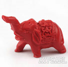 Cinnabar Beads,23*42mm,elephant red,Sold by each.
