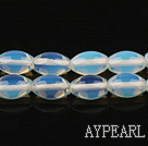opal stone beads,8*12mm rice, sold per 15.35inches strand