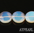 opal gemstone beads,7*20mm oblate,sold per 15.35inches strand