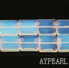 opal gemstone beads,6*14mm square,sold per 15.35inches strand