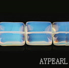 opal gemstone beads,7*20mm square,sold per 15.35inches strand