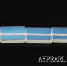 opal gemstone beads,5*15*20mm rectangle,sold per 15.35inches strand