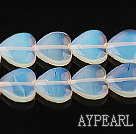opal gemstone beads,5*14mm heart,sold per 14.17inches strand