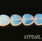 opal gemstone beads,5*16mm heart,sold per 15.35inches strand