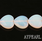 opal gemstone beads,6*18mm heart,sold per 14.17inches strand