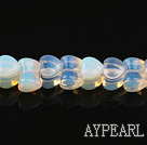 opal gemstone beads,8*11mm two heart bone,sold per 14.96inches strand