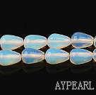 opal gemstone beads,8*12mm waterdrop,sold per 15.35inches strand