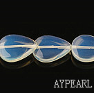 opal gemstone beads,5*15*20mm flat waterdrop,sold per 15.35inches strand