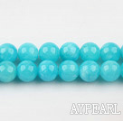 color jade beads,8mm,blue,sold per 15.75-inch strand
