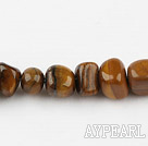 tigereye stone beads ,9-12mm,sold per 15.75-inch strand