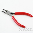 Jewelry Pliers, Red, 14cm long, round nose, Sold per pcs