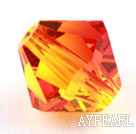 Austrian crystal beads, 5mm bicone,bright gold. Sold per pkg of 720.