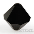 Austrian crystal beads, 5mm bicone,black. Sold per pkg of 720.