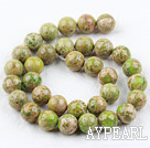 Imperial jasper beads,kelly,12mm round. Sold per 15.16-inch strand