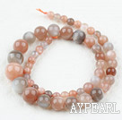 Moonstone beads,6-8-10-12-14mm round in tower,colored,A Grade. Sold per 15.35-inch strand