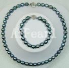 Wholesale black pearl set
