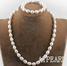 Wholesale white pearl set
