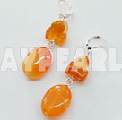 Wholesale agate earring
