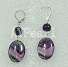 fluorite earring