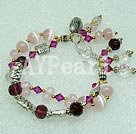 Wholesale Austrian crystal cat's eye bracelet
