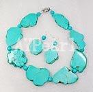 Wholesale blue turquoise set