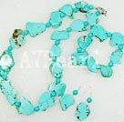 blue turquoise set