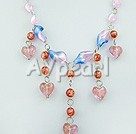 Wholesale colored glaze necklace