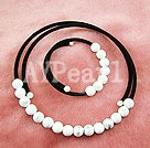 Wholesale white turquoise set