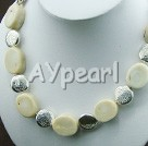 Wholesale white coral necklace