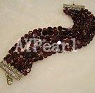 Wholesale garnet bracelet