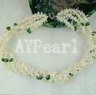 Wholesale coral pearl necklace