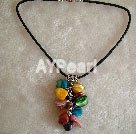 Wholesale multicolor Mother of pearl necklace
