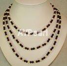 Wholesale garnet pearl necklace