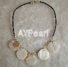 Wholesale Mother of pearl necklace