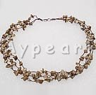 Wholesale picture jasper pearl necklace