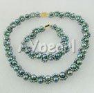 Wholesale black pearl set