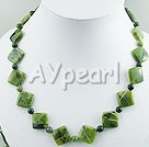 Canadian jade necklace
