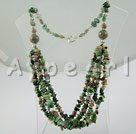 Wholesale Gemstone Jewelry-indian agate necklace