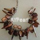 Wholesale multicolor Mother of pearl bracelet