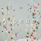 Wholesale crystal pearl necklace