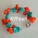 korall Turkos armband