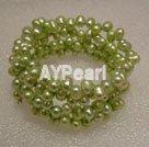 Wholesale Dyed pearl bracelet