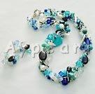 pärla kristall turkos som