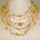 Wholesale citrine necklace
