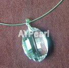 Wholesale crystal silver chaplet nacklace