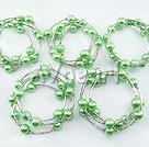 Wholesale Acrylic manmade pearl bracelet