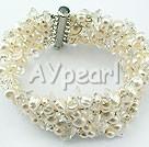 Pearl kristall armband